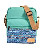 Leaper Small Canvas Crossbody Bag Purse Set for Girls Messenger Bag Shoulder Bag