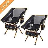 Sportneer Chaise de Camping Pliante, Portable Léger Pliable Camping Chaise...
