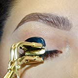 CJP Beauty Eyelash Curler | Mini Eyelash Curler | Lash Curler | Golden Eyelash Curler | Small Eyelash Curler | Partial Eyelash Curler