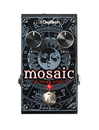 DigiTech Mosaic Polyphonic 12 String Effect Pedal for Guitars