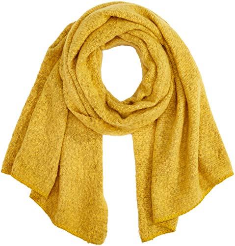 ONLY Damen ONLLIMA Knit Long Scarf Acc NOOS CC Schal, Gelb (Yolk Yellow Yolk Yellow), (Herstellergröße: One Size)