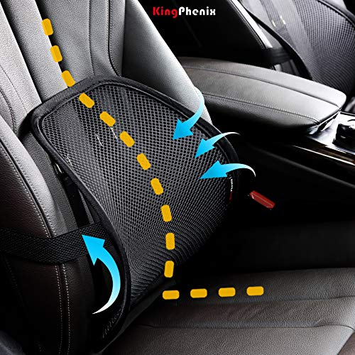 Product Image 3: Lumbar Support (2 Pack) with Breathable Mesh, Suit for Car, Office Chiar