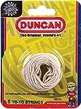 Duncan Toys Yo-Yo String - Pack of 5 Cotton Strings for Plastic, Metal Yo-Yos