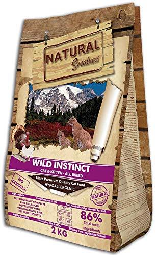 Natural Greatness Pienso seco para Gatos Receta Wild Instinct. Ultra...