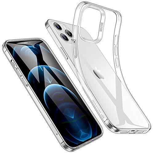 ESR iPhone 12 Pro Max ケース 6.7 inch 2020 新型 クリアケース スリム 軽量 透明 TPUカバー 柔軟性抜群 Q...