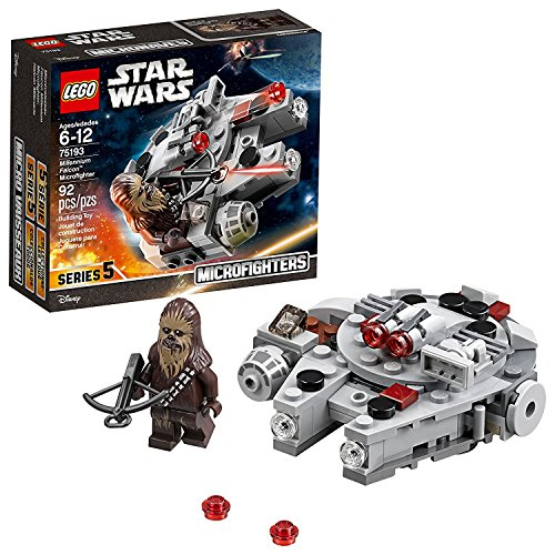 Star Wars Microfighter Millennium Falcon Lego Sem Cor Especificada