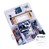 Beoankit Kit de Démarrage Super pour des Projet Arduino UNO R3, Adapté aux Débutants pour apprendre et aux Professionnels pour Bricolage, avec des Tutoriels...