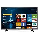 ADSUN 99 cm (40 Inches) HD Ready Smart LED TV 40AESL1 (Black) (2019 Model)