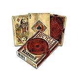 Fournier- Bicycle Vintage des Cartes à Jouer Classiques, 1040828, Rouge E Noir