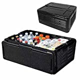 Wosta Portable 24 L ABS Multi-Function Auto Car Mini Fridge Travel Refrigerator Home Cooler Freezer, Warmer for Travel Lover, Long Journey