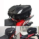 JFG RACING - Bolsa de equipaje impermeable para motocicleta, bolsa para asiento, sillín,...
