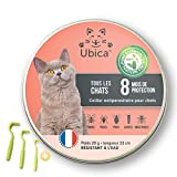 Ubica Collier Anti Puces pour Chat Naturel Anti Tiques pour Chat...