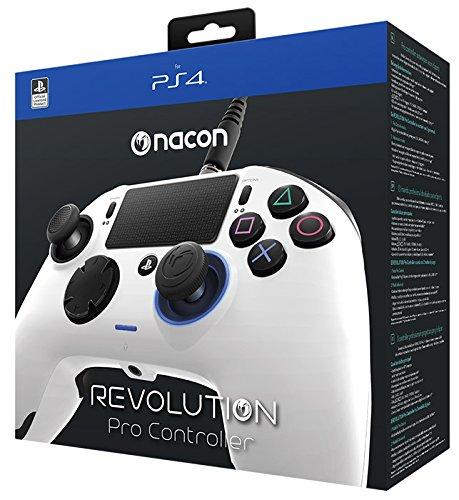 Controle Revolution Pro Nacon Ps4 - Branco