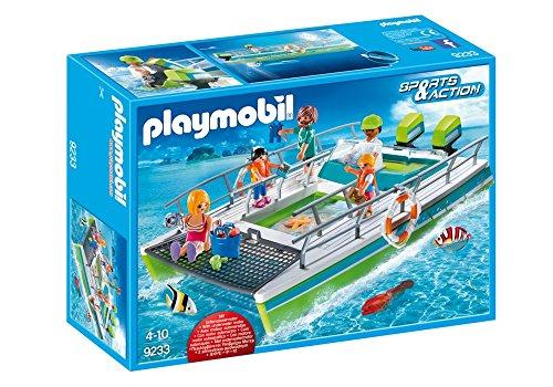 Barco com Visão Submarina e Motor Sunny