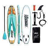 Signstek Inflatable Stand Up Paddle Boards : 10 pies (305 * 80 * 15cm) Sup con la Mochila de Paleta...