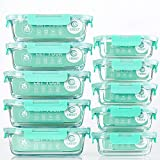 [10-Pack] Glass Food Storage...