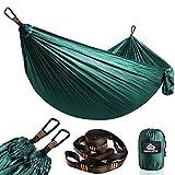 NATUREFUN Hamac Ultra-léger de Voyage Camping | 300 kg Capacité de Charge,(275 x 140 cm) Nylon à Parachute|...