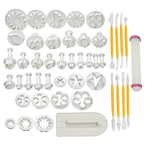 Cake Tools 14 sets (46pcs) Flower Fondant Cake Sugarcraft Decorating Kit