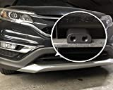 CITKOU 2Pcs Deer Whistles for Car Wind Activated Black