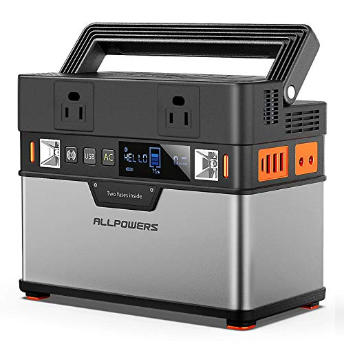 ALLPOWERS Portable Power Station 300W, 372Wh Portable Power...