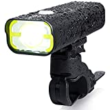BrightRoad Bike Headlight Rechargeable USA FL1 Approved 800 Lumens, Led Bike Light Front with Unique Stripes Increase Visibility, IPX6 Waterproof Bicycle Light, Mountain Bike Lights for Night Riding