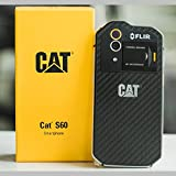 CAT Phones CS60SUBUSAUN S60 Rugged Waterproof Smartphone with Integrated FLIR Camera