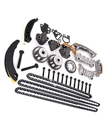 Exerock 9-0753S Timing Kit Engine Timing Chain Kit Compatible with Buick Enclave Lacrosse Cadillac CTS SRX Chevy Equinox Malibu Traverse GMC Acadia