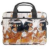 Funda para ordenador portátil de 13,4 y 14,5 pulgadas, diseño egipcio antiguo