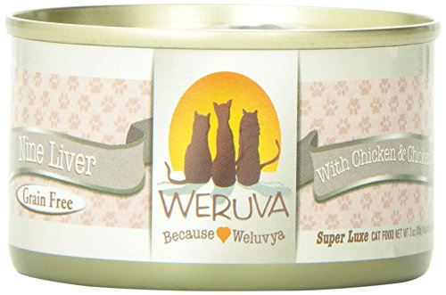 Weruva 878408001147 Nine Liver Canned Cat Food (24 Pack)