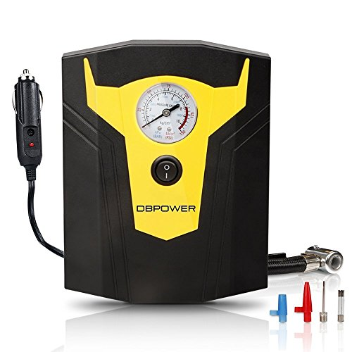 DBPOWER Electric Tire Inflator With Gauge