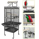 YOUKE Grande Bird Cage d'élevage, Volière pour cacatoès,...