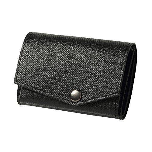 アブラサス (abrAsus) 小さい財布 ブラック