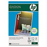 HP Hewlett Packard Color Laser Photo Paper, 7.5 mil, 220gsm, Glossy,...