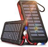 Batterie Externe Chargeur Solaire 25000mAh Portable Power Bank,...