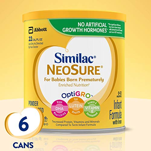 Similac NeoSure Infant Formula with Iron, For Babies Born...