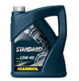 MANNOL 16214000000 Moteur Standard 15W40 SL/CF, 5 l