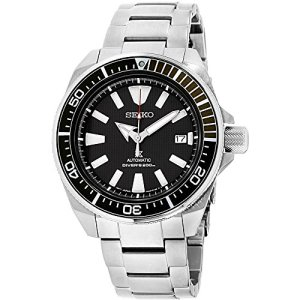 Seiko Prospex Samurai Stainless Steel Automatic Dive Watch 200 meters SRPB51 54