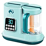 Baby Food Maker, BabyFood Processor Blender and Steamer, Multi-Function Baby Food Grinder Mills Machine, Auto Cooking, Fast Heat & Self-Cleaning Water Tank, Make Healthy Puree Food for Babies