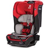 Diono 2020 Radian 3QX, 4-in-1 Convertible, Safe+ Engineering, 3 Stage Infant Protection, 10 Years 1 Car Seat, Fits 3 Across, Red Cherry