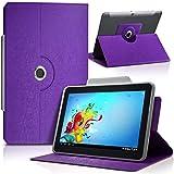 KARYLAX Housse Etui de Protection Universel M Couleur Violet pour Tablette LG G...
