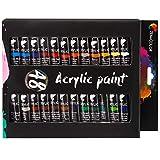 48 Tubos de Pintura Acrílica 12mL Zenacolor - Set para lienzos y manualidades