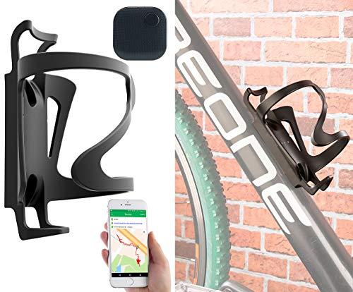 TrackerID GPS Sender Fahrrad: GPS-Tracker im Fahrrad-Flaschenhalter mit App, 6 Monate Laufzeit, IPX6 (GPS Tracker Fahrrad Lenker)