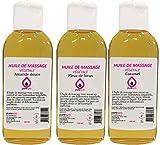 Coffret Modelage Sensuel- Mix de 3 flacons d'Huiles de massage...