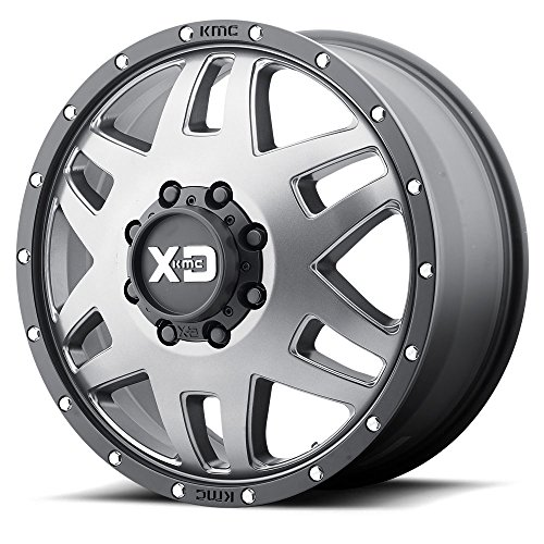 XD SERIES BY KMC WHEELS XD130 MACHETE DUALLY GRAY Wheel Chromium (hexavalent compounds) (20 x 7.5 inches /8 x 125 mm, -152 mm Offset)