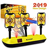 Jionchery Upgrade Electronic Shooting Target for Nerf Guns Auto Reset Digital Targets for Shooting Games with Wonderful Light and Sound Effect, Ideal Toy for Boys and Girls