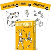 NewMe Fitness Workout Cards - Home Gym Bodyweight Exercise Card Deck for Men and Women - Personal Trainer Fitness Program w/ Cardio, Core, Glutes, Ab, and Personalized Workouts (Vol 1)