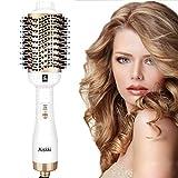 Aiskki One Step Secador de pelo 5 en 1 multifuncional con cepillo de aire caliente secador de pelo ...