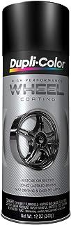 Dupli-Color HWP104 Black High Performance Wheel Paint – 12 oz.