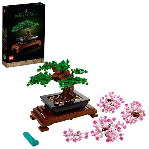 LEGO 10281 Bonsai Baum, DIY Set für Erwachsene, Zimmer-Deko, Botanik Kollektion