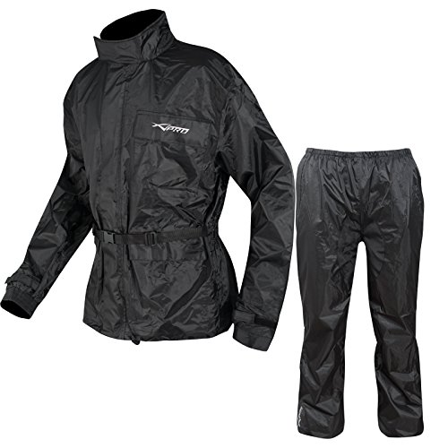 A-pro Combinaison Textile Impermeable Anti Pluie Blouson Pantalon Moto...